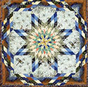 Dragonfly Pond Lone Star Quilt