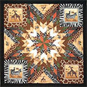 Safari Lone Star Quilt