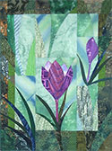 Small Spring Crocus Wallhanging