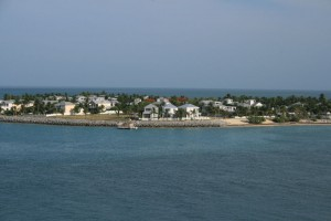 Key West view from the ship