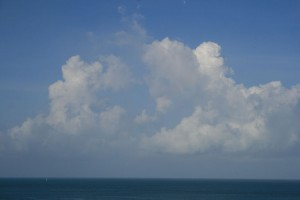 Clouds in Key West