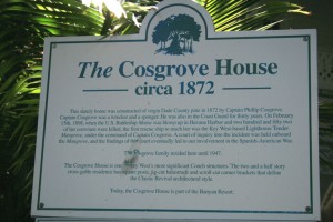 The Cosgrove House sign