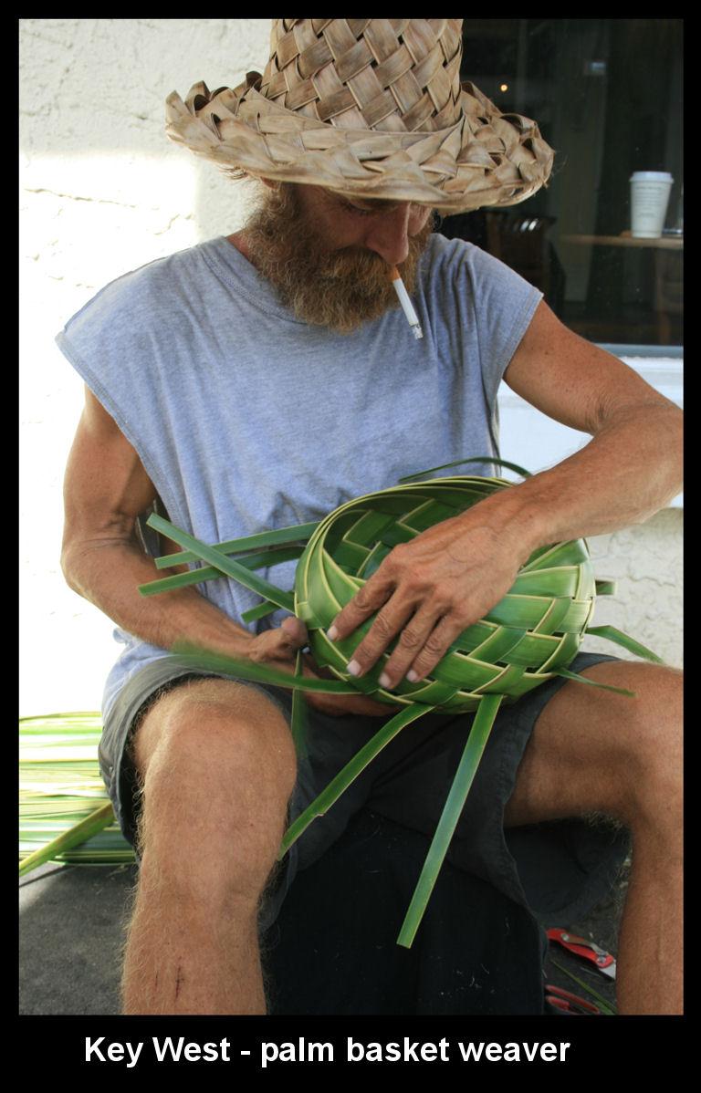 Palm Basket maker