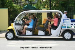rent an electric cart!