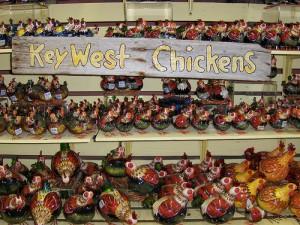 Key West Chicken souvenirs