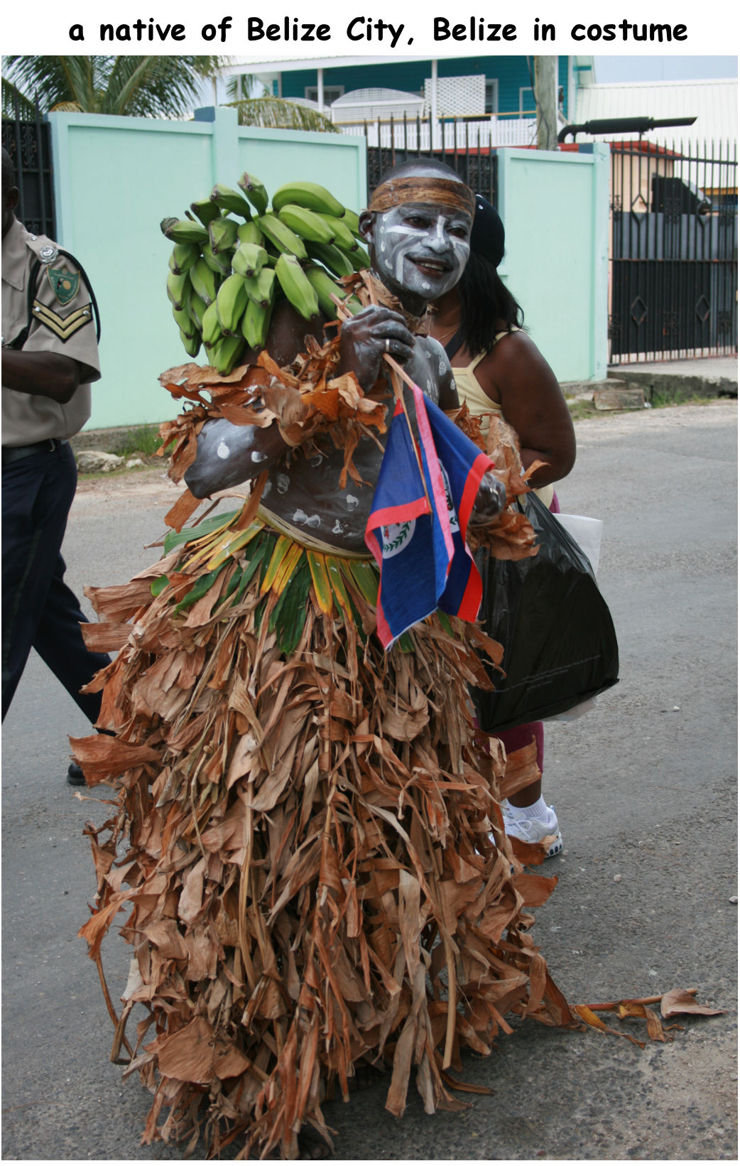 Belize - native costume