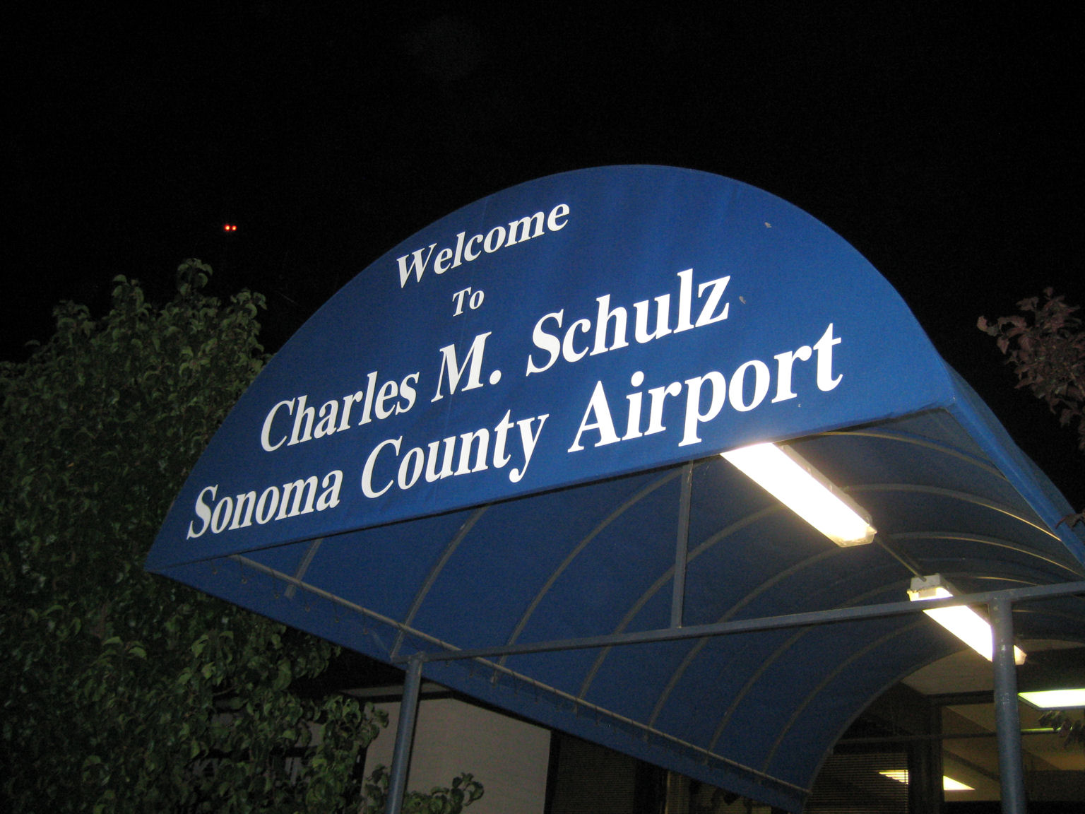 Charles M Schulz Airport