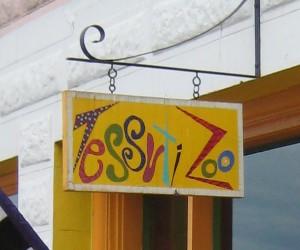 Tessuti Zoo sign