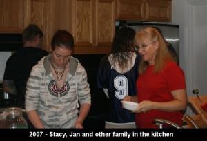 Thanksgiving in the Krentz kitchen