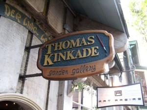 Thomas Kincade Gallery sign