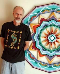 Ojo de Dios artist, Jay Mohler