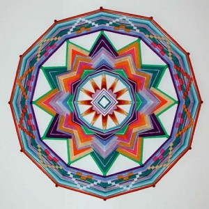 Wildflower Dance mandala