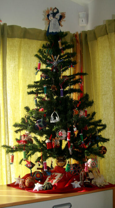 Studio Christmas tree