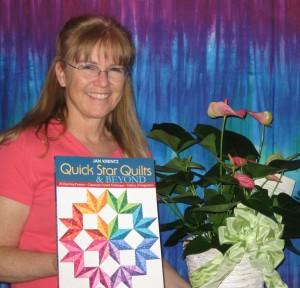 Jan Krentz and Quick Star Quilts book
