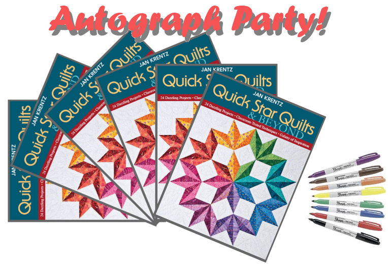 Quick Star Quilts Book Signing