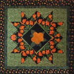 Open Star with applique center