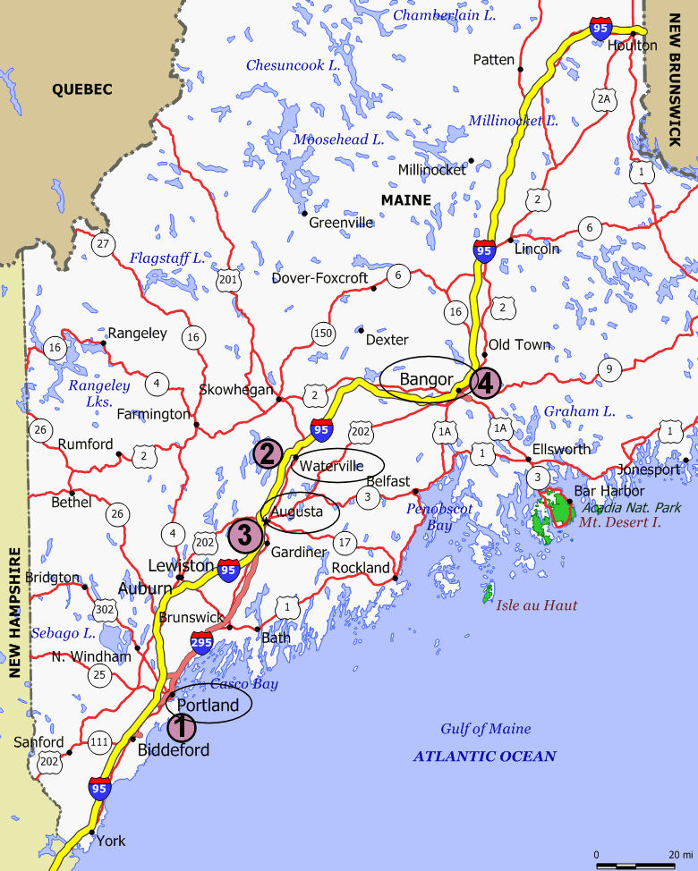 Jan Krentz Blog  Blog Archive  Maine State Map