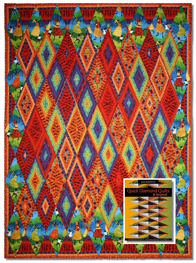 Jan Krentz Blog » Quick Diamond Quilts : diamond quilts - Adamdwight.com