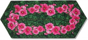 Hollyhock Gardens Table runner