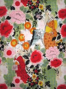 Alexander Henry Harajuku Lady fabric
