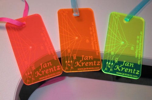 Pink, Orange and Yellow Jan Krentz tools