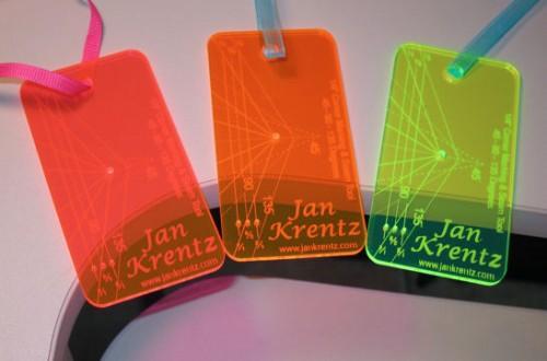 Pink, Orange and Yellow Jan Krentz tools