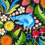 Jane's Early Birds fabric