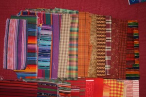 mixture of shirtings & yardage