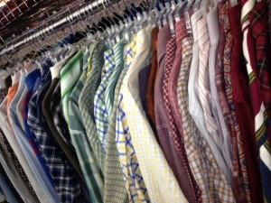 beautiful shirts in plaids and stripes