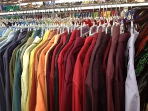 solid colored shirts